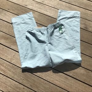 NWT L. L. BEAN linen trousers